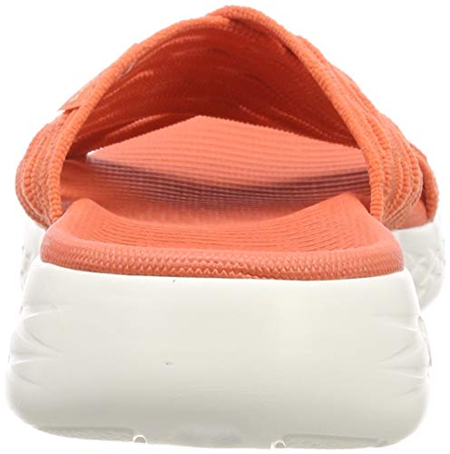 Skechers orange sunrise Org Punta Mujer Naranja 600 Para De Descubierta Run Go Sandalias Pw7Pqr1O
