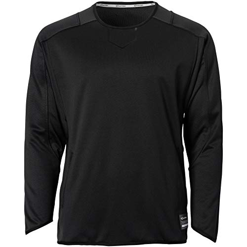 - Easton Alpha Fleece Pullover Adult Black M