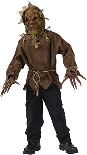 Evil Scarecrow Child Costume - Large ()