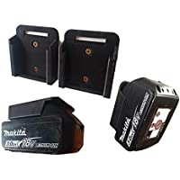 Makita 18v Battery Holder x 6 Bracket Tool Rack Storage Power Tools Work Organizer