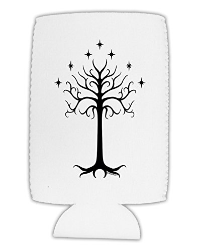 TooLoud The Royal White Tree Collapsible Neoprene Tall Can Insulator ()