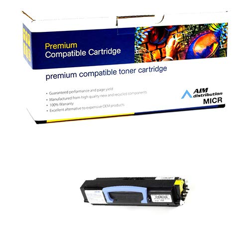 AIM Compatible MICR Replacement for Dell 1700/1710 Toner Cartridge (6000 Page Yield) (310-7041) - Generic ()