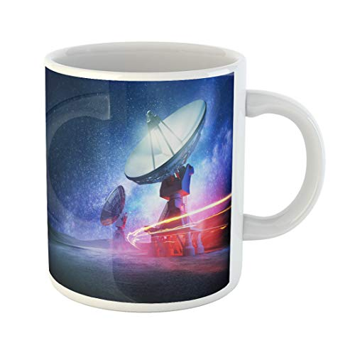 - Semtomn Funny Coffee Mug Satellite Astronomy Deep Space Radio Telescopes 3D Desert System 11 Oz Ceramic Coffee Mugs Tea Cup Best Gift Or Souvenir