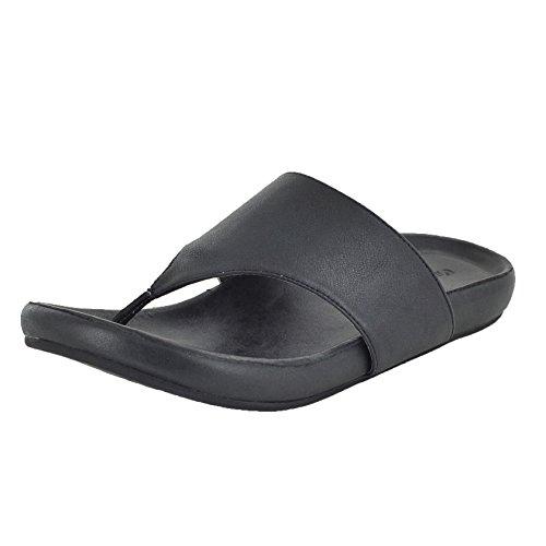 CHOCOLAT BLU Omega Black Womens Thong Size (Blu Thongs)
