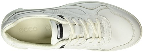 Baskets Blanc Basses Ecco WHITE1007 Femme Cs16 Ladies q0aaxwAP