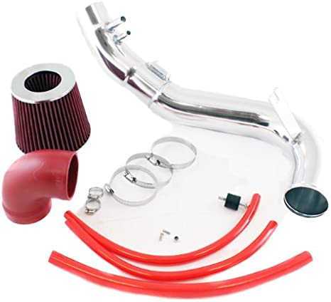 Velocity Concepts 3 Red JDM Cold Air Intake Filter 06-11 For Honda Civic Si Coupe//Sedan 2.0L L4