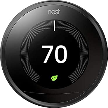 Nest T3016US 3rd Generation Learning Programmable Thermostat - Black