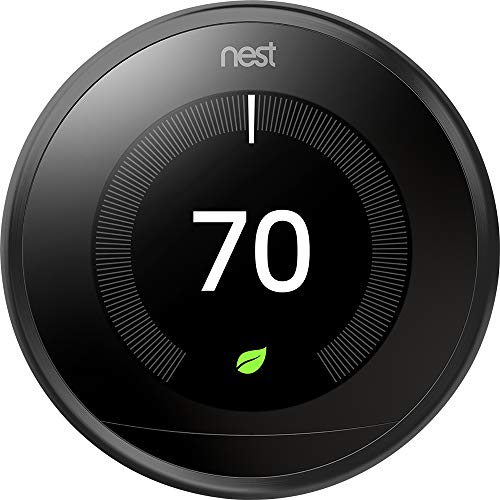 - Nest 9750016 T3016US Thermostat 3.3 x 1.2 x 3.3 Black