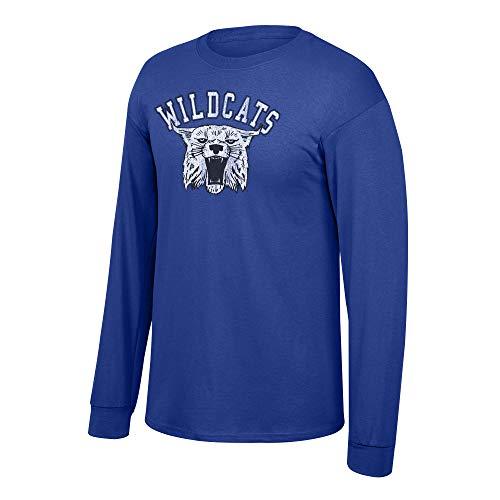Men's Kentucky Wildcats Long Sleeve T Shirt Team Vintage Kentucky Wildcats Royal Large ()
