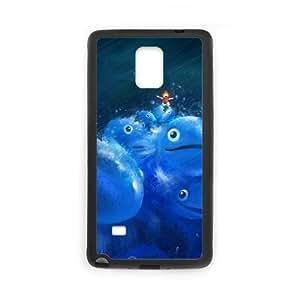 Ponyo Samsung Galaxy Note 4 Cell Phone Case Black F2952982