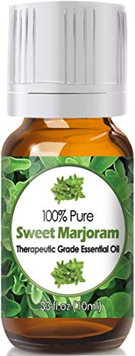 Sweet Marjoram Essential Oil for Diffuser & Reed Diffusers (100% Pure Essential Oil) 10ml ()