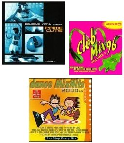 {3 CD Dance Pack / 39 songs} featuring: Inline, Fly Girl, Benny Moore, Mo'reece Marks, Barbara Nelson, Julio Sole, Sonni Bebe, Latin Lou/Mambo All Stars, Dick Martian, Sonni Bebe, On Time, The Party Boys, Mini Trio, Buckwhead, The Black Pack, Brand New Heavies, Robin, Basscut, Aja, Pharcyde, Omar Gosh, Masta Ace, Apocalypse, Fatlip, Nuyorican Soul, Black Magic, Taylor Dayne, Vanessa Daou, Sandy B, Groove Collective, Kenlou III, Fresh Fish, Soul Solution, Joi Cardwell, D'Still'd, Planet Soul, Ace Of Base