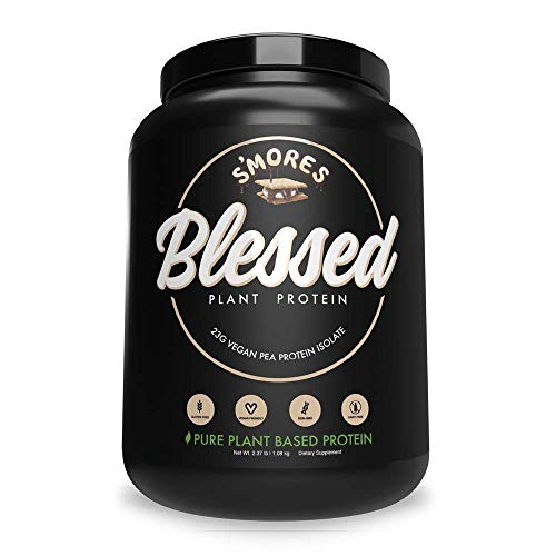 BLESSED Plant Based Protein Powder – 23 Grams, All Natural Vegan Protein, 2 Pounds, 30 Servings (Vanilla Chai) 2