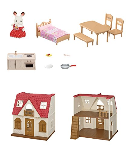 Calico Critters Red Roof Cozy Cottage (Sylvanian Village)