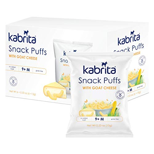 Kabrita Snack Puffs With Goat Cheese, 1.5 Ounce
