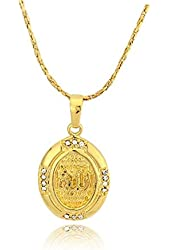 Allah Calligraphy Necklace Pendant Religious Jewelry