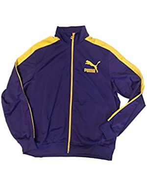 Heroes T7 Track Jacket Prism Violet Spectra Yellow Men's XL