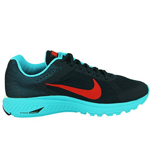 Nike Zoom Structure +17 615587-010 Herren Laufschuhe Azul / Rojo (Armry Nvy / Chllng Rd-Gmm Bl-Smm-)