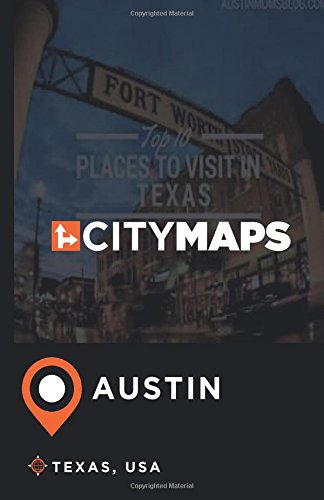 City Maps Austin Texas USA product image