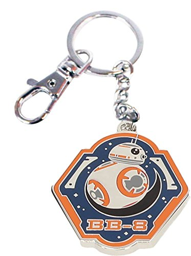 Amazon.com: BB-8 BORDE NARANJA LLAVERO METAL STAR WARS EP7 ...