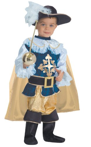 Musketeer Costume Toddler (Deluxe Musketeer Toddler Costume Size 2T)