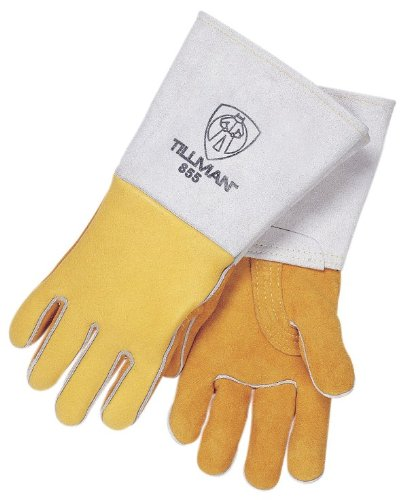 Tillman 855 Super Premium Heavyweight Deerskin/Cowhide Welding Gloves,