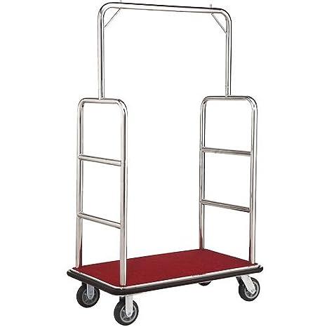 Amazon.com: Plata montantes de acero inoxidable de carrito ...