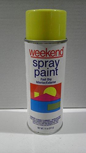 11oz Sun Yellow Weekend® Economy Paint [Set of 6]