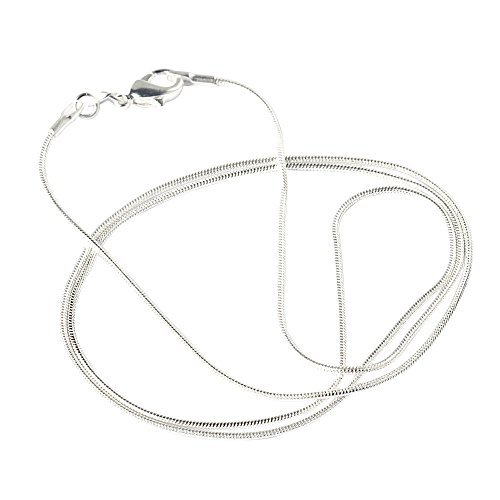 Pink ® Halskette Unisex Frauen Schmuck Kette Schlangenkette rund Snake  Chain lang aus , Halskette Länge 4efa725051