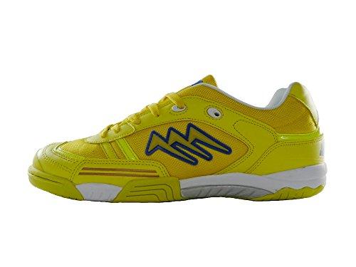 AGLA - Zapatillas de fútbol sala de Material Sintético para hombre amarillo