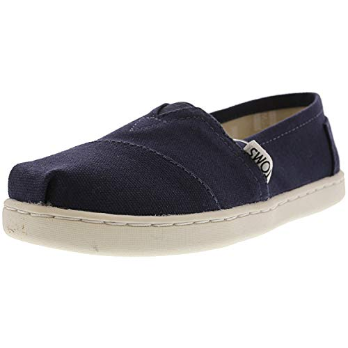 TOMS Kids Unisex Alpargata 2.0 (Little Kid/Big Kid) Navy Canvas 12 M US Little Kid