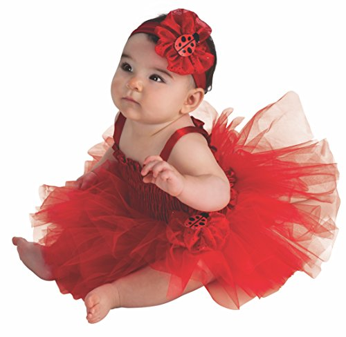 Rubie's Newborn Ladybug Tutu Dress, Red, 6-9 Months -