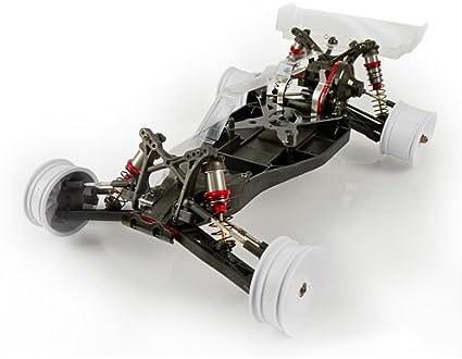 Atomik V2MR 9025 CNC en aluminium plaque châssis arrière contrôle radio buggy