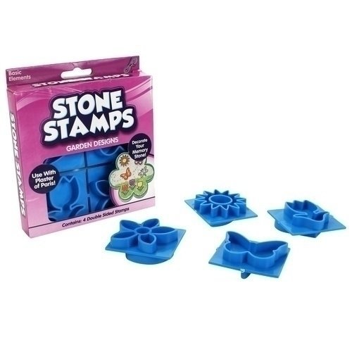 WM Kids Craft Stone Stamps, Garden Designs