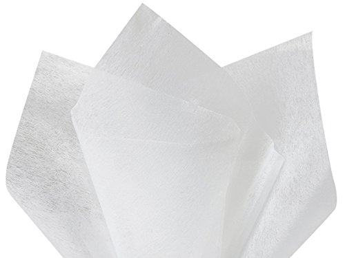White Non-Woven Tissue Sheets 10 Sheet Pack ~ 20