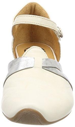 kombi Off Think ivory 93 Ivory Women's Ankle Heels 282242 kombi Strap Aida white 93 RqfqgYzw