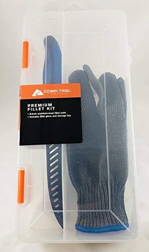 Premium Fillet Kit - 6 Knife, Glove & Storage Box