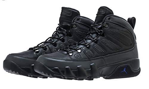 Jordan Nike Men's Air 9 Retro Boot NRG Black AR4491-001 (Size: 8) ()