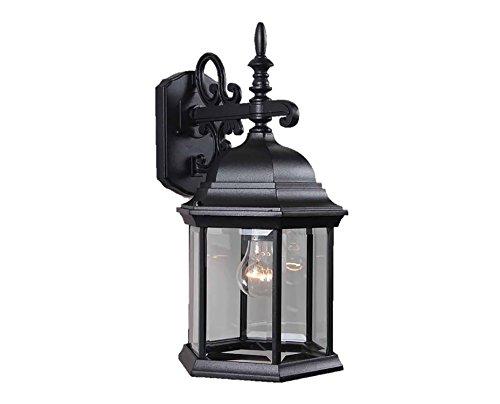 - Volume Lighting V8120-5 1-Light Outdoor Wall Sconce, Black