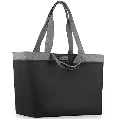 CHICECO X-Large Tote Bag for Beach Pool Travel - Waterproof Lining