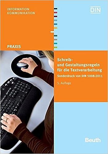 Schreib Und Gestaltungsregeln Für Die Textverarbeitung Sonderdruck
