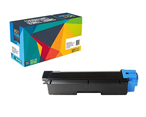 Do it Wiser Compatible Toner Cartridge Replacement for Kyocera Ecosys FS-C5250DN FS-C2126MFP FS-C2026MFP FS-C2626MFP FS-C2526MFP Cyan