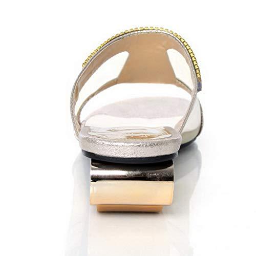 Donna SLC04460 35 Oro Ballerine AdeeSu EU Gold B1qwqSP