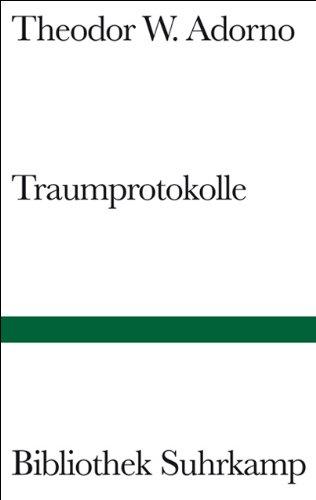 Traumprotokolle (Bibliothek Suhrkamp)