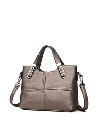 Zhao Liang Women's Handbag Patchwork Simple Delicate Soft Durable Trendy Bag