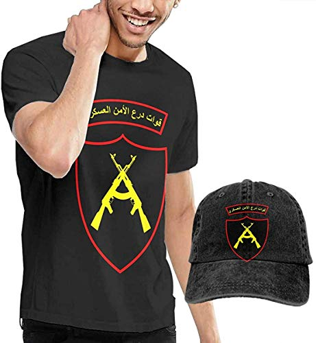 Homme T- T-Shirt Polos et Chemises Military Security Shield Forces Sign Fashion Men's T-Shirt and Hats Youth & Adult T… 1