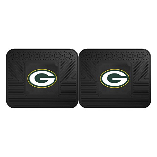 FANMATS 12306 NFL - Green Bay Packers Utility Mat - 2 Piece ()