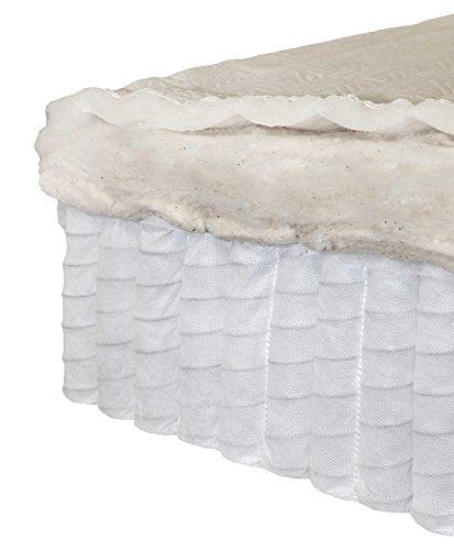 amazoncom my green mattress pure echo gots organic cotton and natural wool mattress twosided king made in the usa kitchen u0026 dining