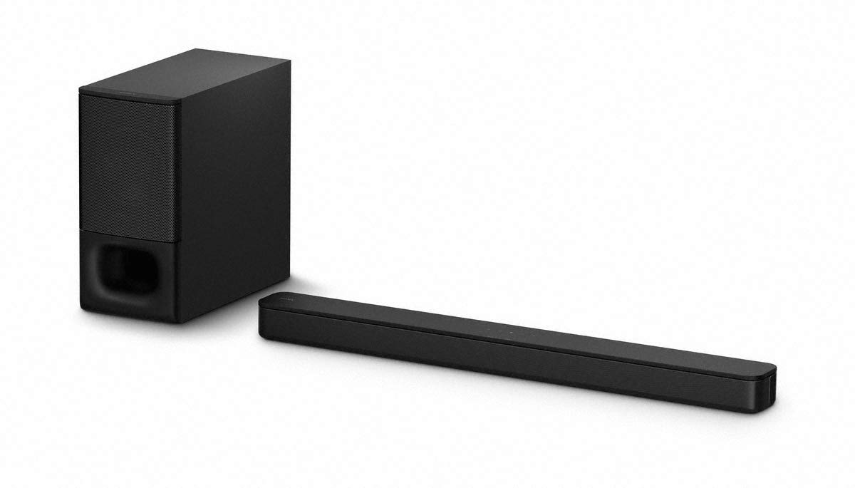 Sony HT-SD35 Bluetooth 2.1 Sound Bar with Wireless Subwoofer, 350 Watts, Black HTSD35.CEK