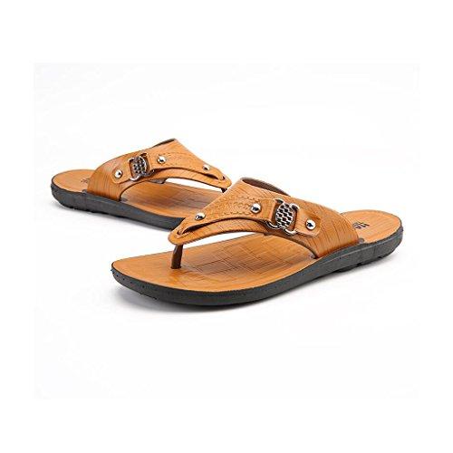 Scarpe Personalit Indossabile spiaggia Andare Fondo Toe CJC Confortevole moda uomo Traspirante Sandali Open Casual alla da da Scarpe morbido Antiscivolo 5T1wAAHq